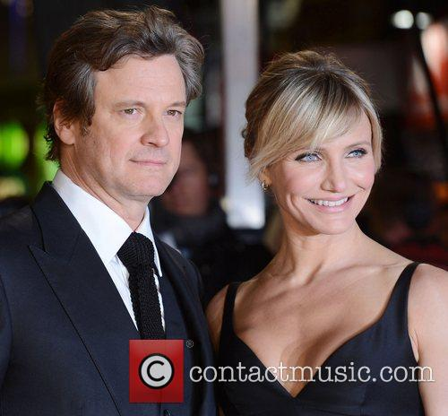 Cameron Diaz, Colin Firth, World Premiere, Gambit, The Empire, Leicester Square, London and England 11