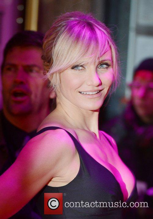 Cameron Diaz, World Premiere, Gambit, The Empire, Leicester Square, London and England 9