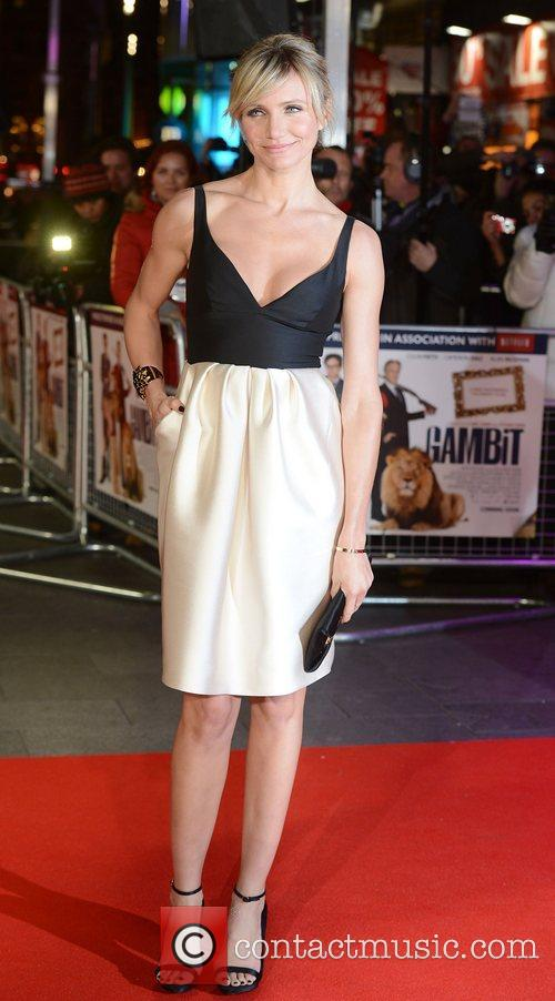 Cameron Diaz, World Premiere, Gambit, The Empire, Leicester Square, London and England 4