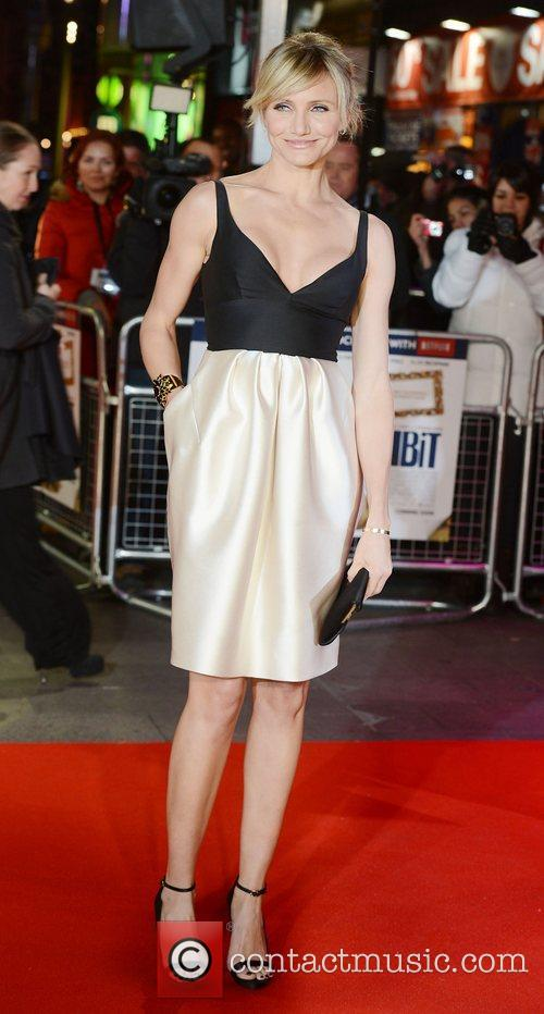 Cameron Diaz, World Premiere, Gambit, The Empire, Leicester Square, London and England 6