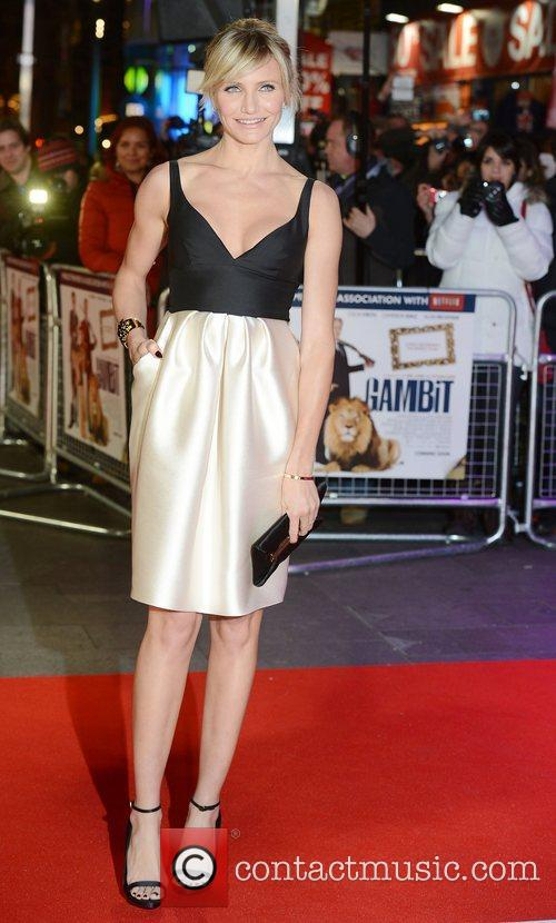 Cameron Diaz, World Premiere, Gambit, The Empire, Leicester Square, London and England 2