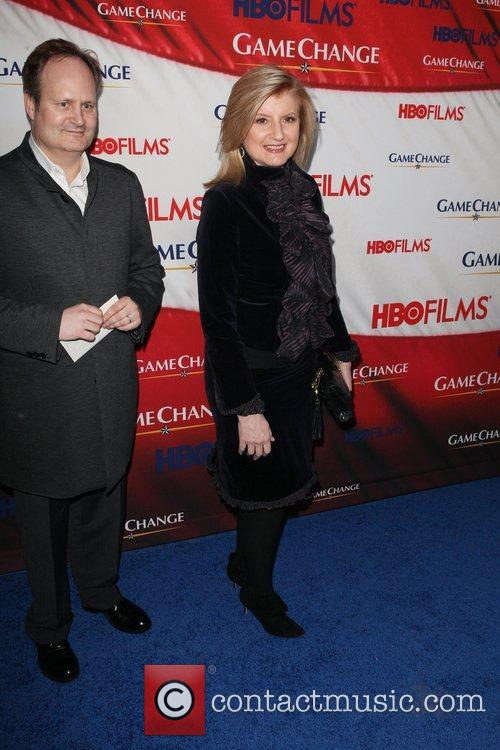 Arianna Huffington and Ziegfeld Theatre 1
