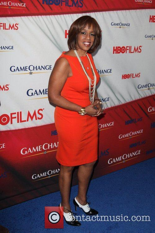 Gayle King and Ziegfeld Theatre 1