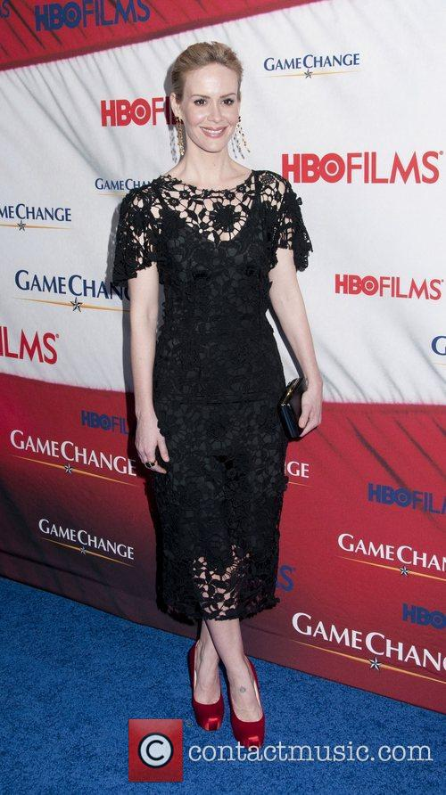 sarah paulson new york premiere of game 3768405