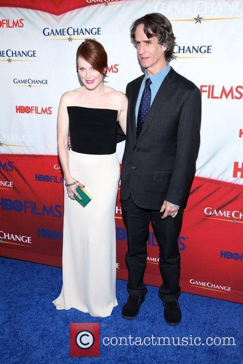 Julianne Moore, Jay Roach and Ziegfeld Theatre 3