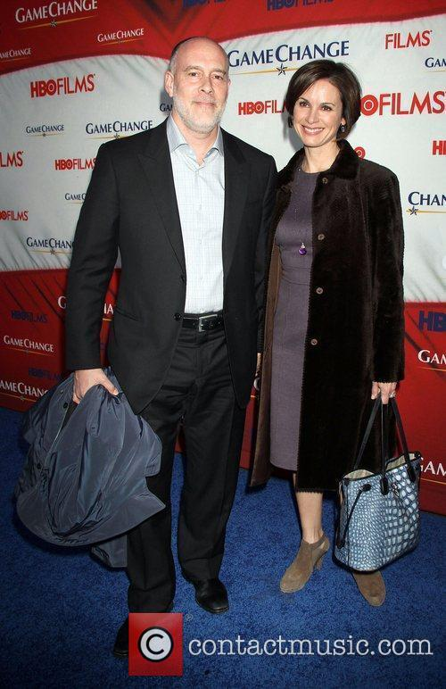 Elizabeth Vargas and Ziegfeld Theatre 4