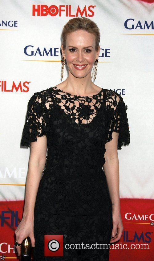 Sarah Paulson, Jay Roach and Ziegfeld Theatre 3