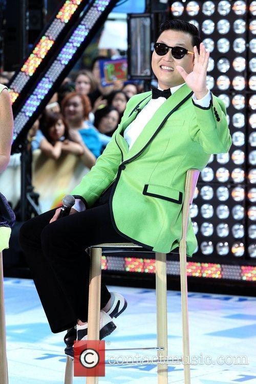 South Korean rapper PSY  performs Gangnam Style...