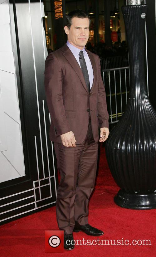 Josh Brolin Gangster Squad Premiere