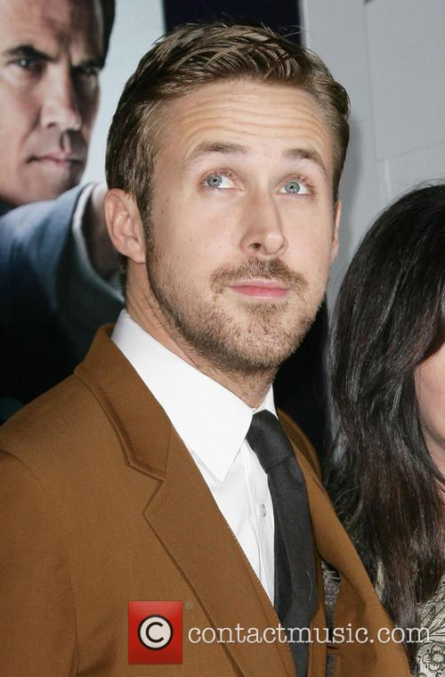Ryan Gosling and Grauman's Chinese Theater 2