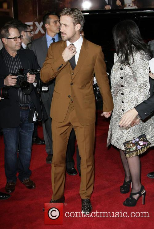 Ryan Gosling, Donna Gosling and Grauman's Chinese Theater 4