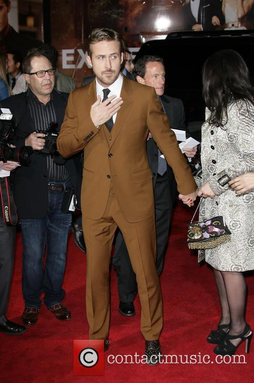 Ryan Gosling, Donna Gosling and Grauman's Chinese Theater 1