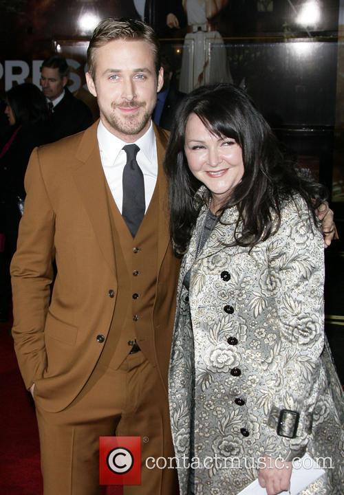 Ryan Gosling with mother Gangster Squad Premiere