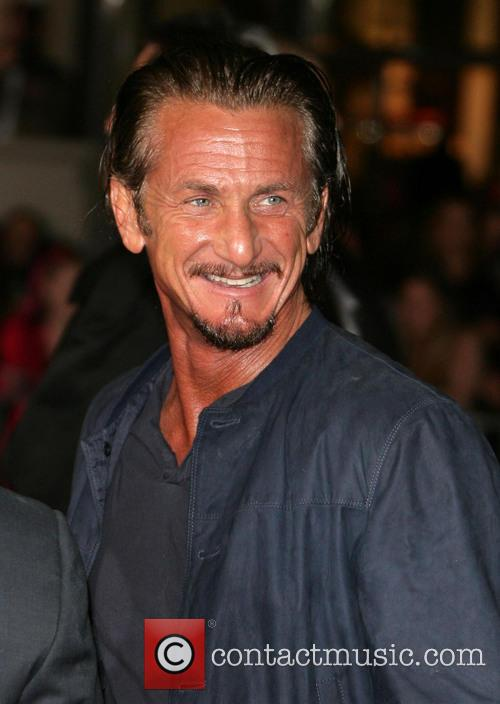 Sean Penn and Grauman's Chinese Theater 3