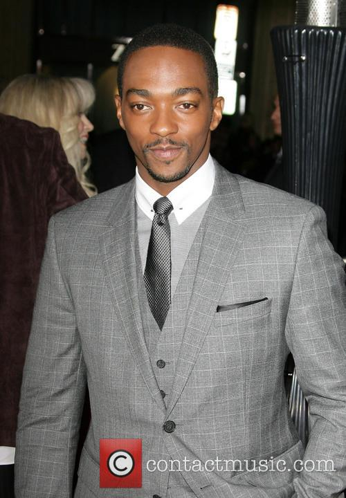 Anthony Mackie and Grauman's Chinese Theatre 6