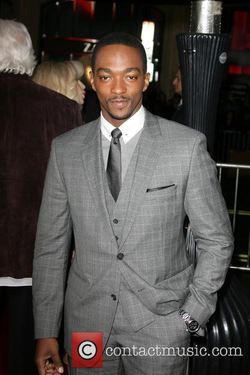 Anthony Mackie and Grauman's Chinese Theatre 3