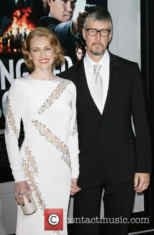 Mireille Enos, Alan Ruck and Grauman's Chinese Theater 1