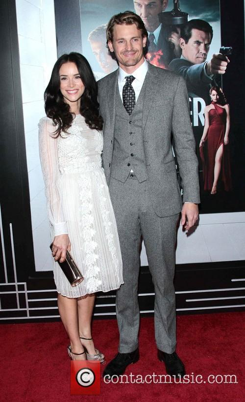 Abigail Spencer, Josh Pence and Grauman's Chinese Theater 6