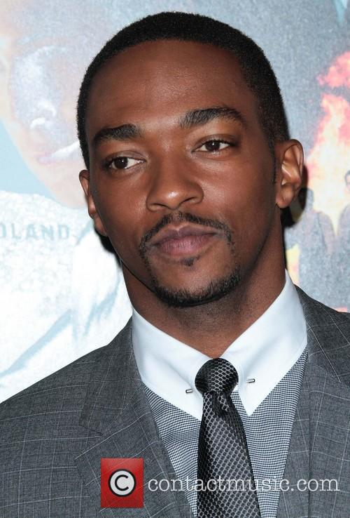 Anthony Mackie Gangster Squad Premiere