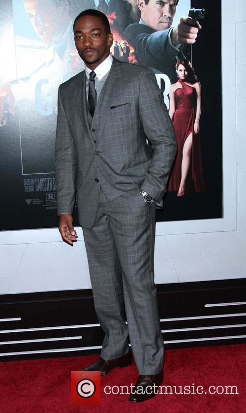 Anthony Mackie and Grauman's Chinese Theatre 9