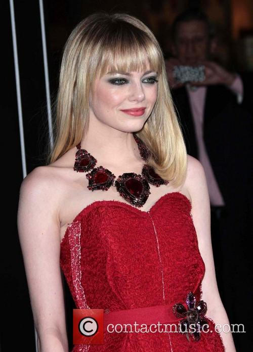 Emma Stone and Grauman's Chinese Theater 2