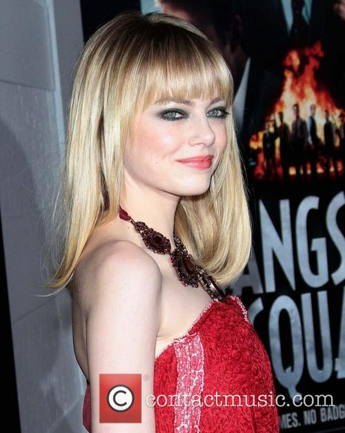 Emma Stone and Grauman's Chinese Theater 7