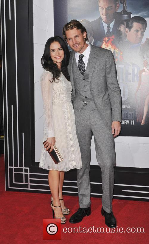 Abigail Spencer, Josh Pence and Grauman's Chinese Theater 11