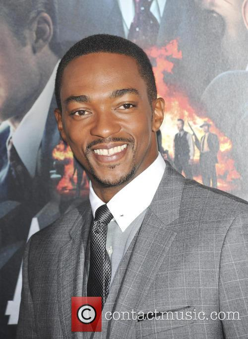 Anthony Mackie and Grauman's Chinese Theatre 10