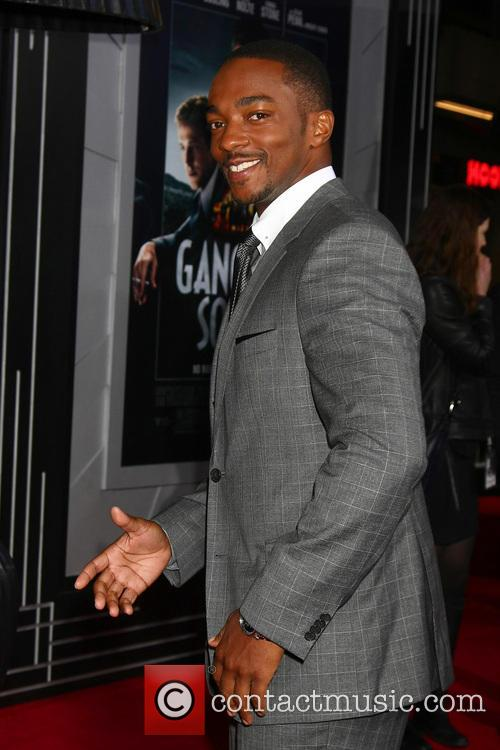Anthony Mackie and Grauman's Chinese Theatre 11