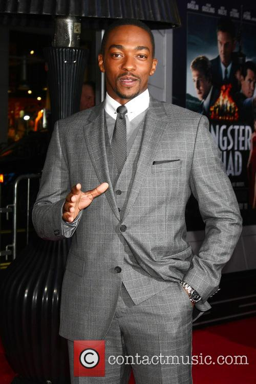 Anthony Mackie and Grauman's Chinese Theatre 1