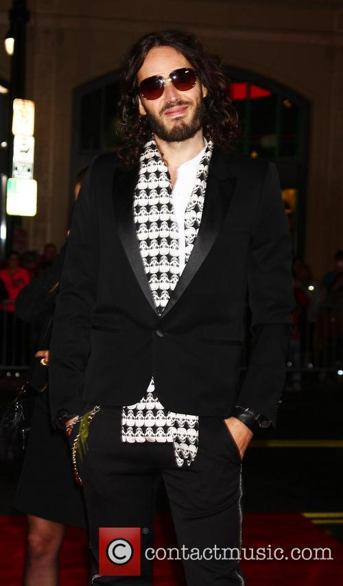 Russell Brand and Grauman's Chinese Theater 2