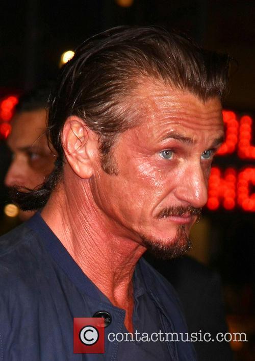 Sean Penn and Grauman's Chinese Theater