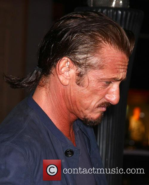 Sean Penn and Grauman's Chinese Theater 6