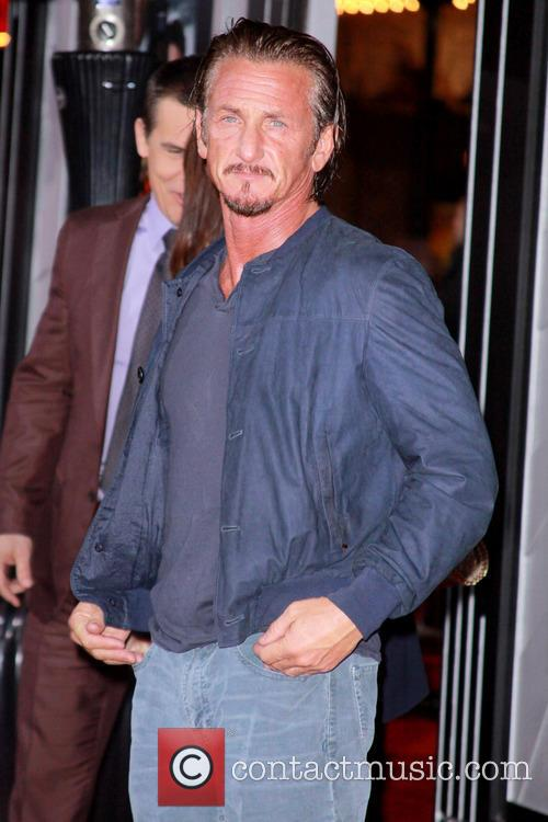 Sean Penn and Grauman's Chinese Theater 9
