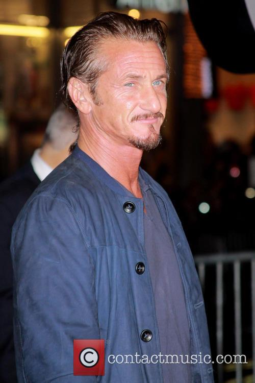 Sean Penn and Grauman's Chinese Theater 11