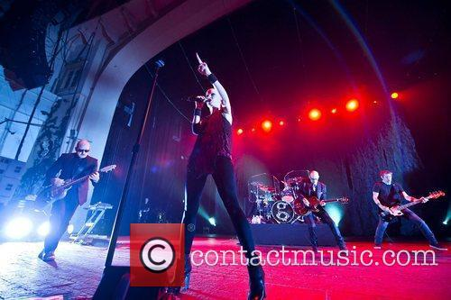 Shirley Manson of Garbage performing at the Brixton...