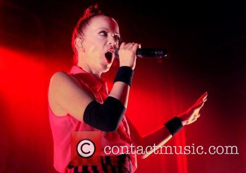 Shirley Manson of Garbage performing live at Manchester...