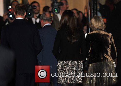 Duchess, Kate Middleton, Prince Charles, Prince William and Royal Albert Hall 4
