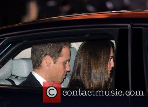 Duchess, Kate Middleton, Prince William and Royal Albert Hall 1