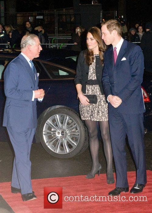 Prince William, Albert Hall, Duchess, Gary Barlow, Prince Harry and Royal Albert Hall 7