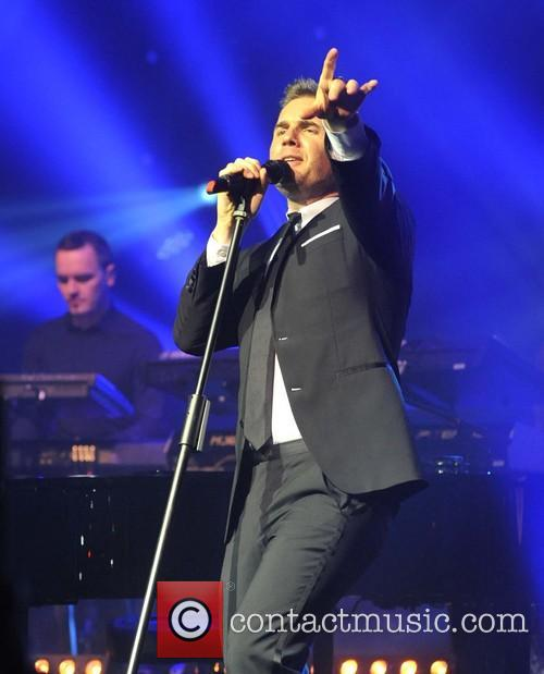 Gary Barlow and Olympia Theatre 12