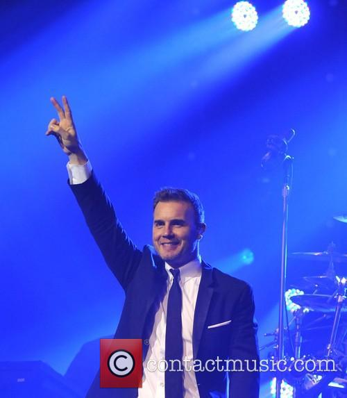Gary Barlow and Olympia Theatre 13