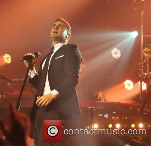 Gary Barlow and Olympia Theatre 11