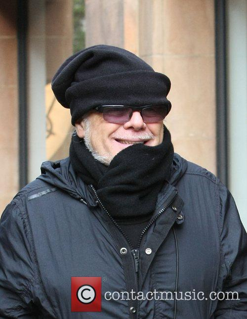 Gary Glitter aka Paul Gadd out and about...