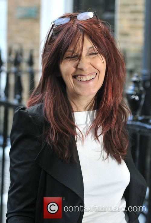 Janis Sharp arrives at the Gary McKinnon extradition...