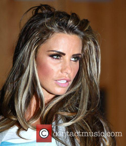 Katie Price and O2 Arena 9