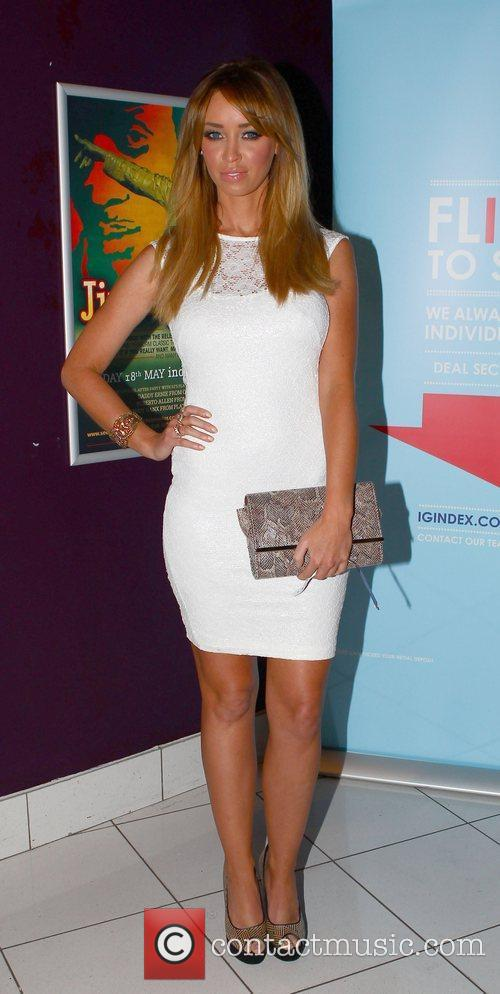Lauren Pope at the HPA Gaucho International Polo...