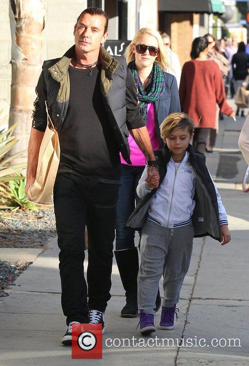 Gavin Rossdale and Kingston 6