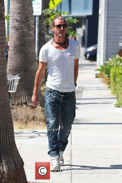 Gavin Rossdale out and about on Abbot Kinney...