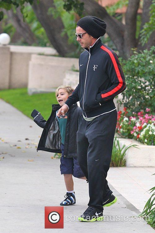 Gavin Rossdale and Kingston Rossdale 11